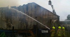 Eaton Socon factory fire