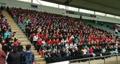 1,000 children gather at Home Park