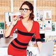 Victoria Beckham in Glamour USA magazine