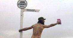 naked rambler Steve Gough