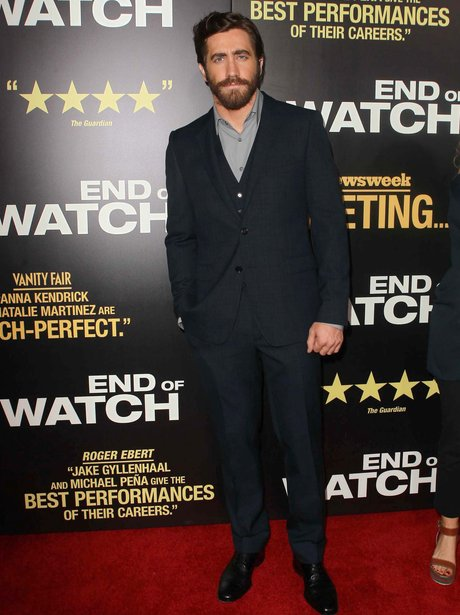 Jake Gyllenhaal with a beard