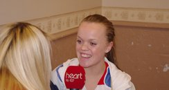 Ellie Simmonds Welcome home