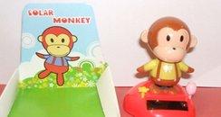 Solar Monkey toy