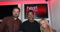 Jamie & Emma With Denzel Washington