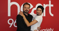 Jamie Theakston and Rylan Clark