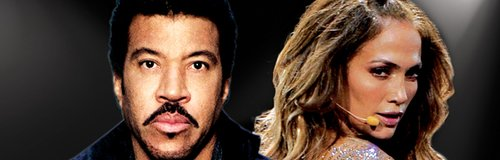 Lionel Richie and Jennifer Lopez