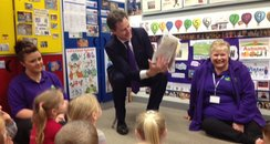 Nick Clegg reads a story