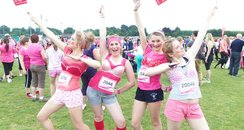 Fancy Dress - Basingstoke Race for Life 19/06/2013