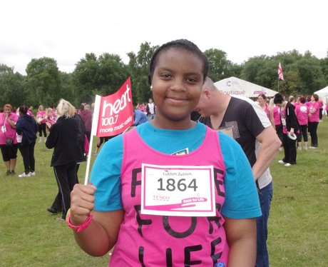 Sutton Coldfield Race for Life in the Field Sunday