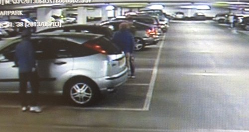 Hampshire car park distraction theft