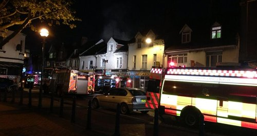 Bognor Chinese fire