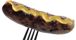 Hot Sausage & Mustard Photo
