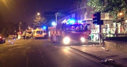 Chemical leak at New London Road Chelmsford