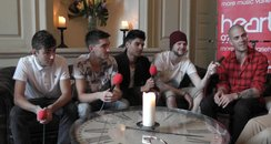 The Wanted backstage at SD2