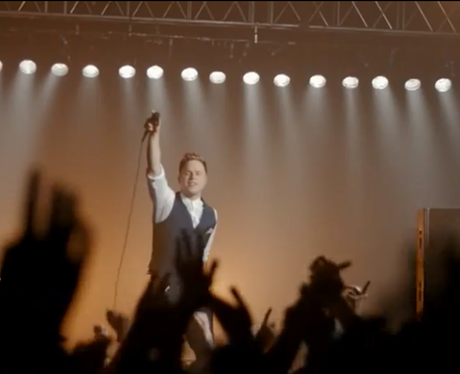 Olly Murs in the Heart TV advert