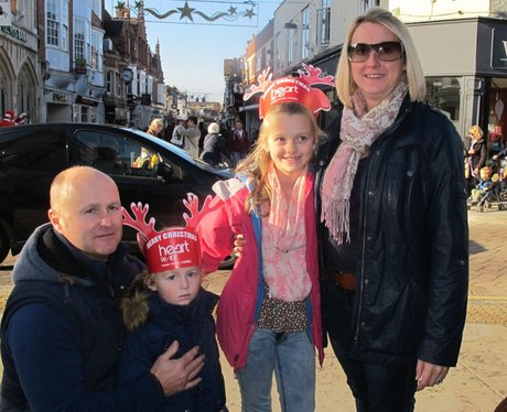 The Heart Angels went to Horsham or their spectacu