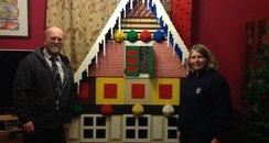 Giant Lego house