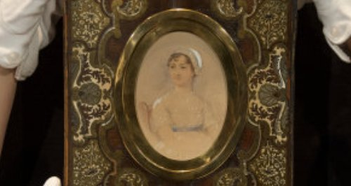 portrait of Jane Austen by James Andrews