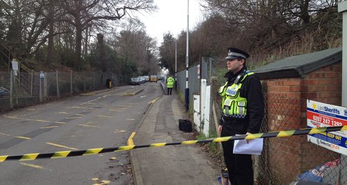 Shooting at Shenfield station