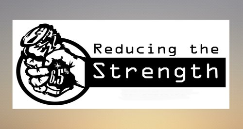 reducing the strength logo