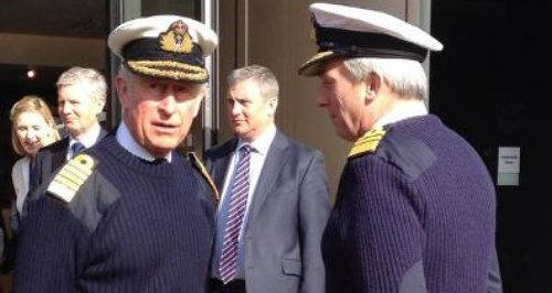 Prince Charles Portsmouth