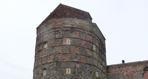 Great Yarmouth town wall tower