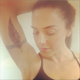 Mel C with a tattoo on her arm