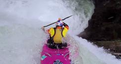 Dane Jackson's 60ft Waterfall Drop In A Kayak