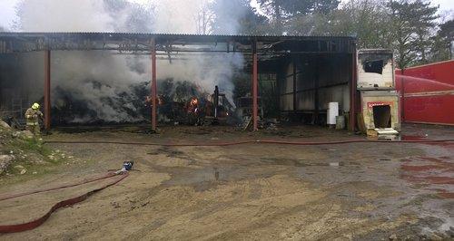 Barn Fire in Billericay