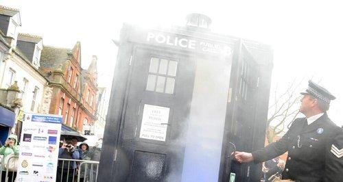 Boscombe Tardis police box