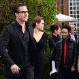 Brad Pitt, Angelina Jolie and Maddox Jolie-Pitt