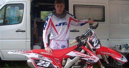 Bradley Hooper motocross Winchester