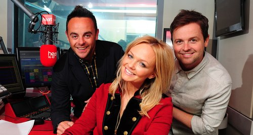 Emma Bunton, Ant & Dec in the Heart studio
