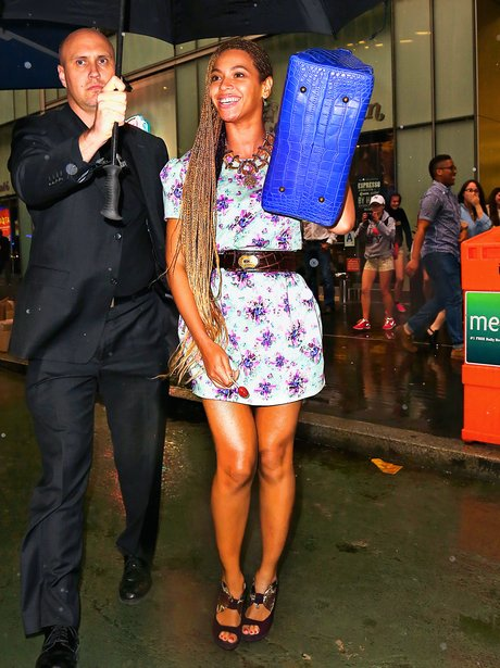 Beyonce in New York