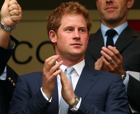 Prince Harry at World Cup in Brazil