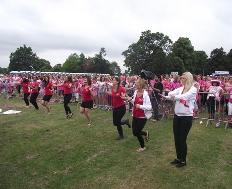 Reading Race for Life 2014 - Before the Race