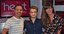 JK and Lucy with Daniel Radcliffe