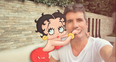 Simon Cowell and Betty Boop