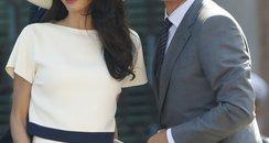 George Clooney and wife Amal Alamuddin Civil Marri