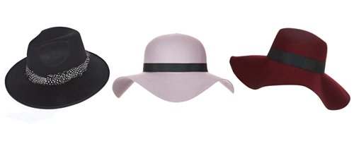 Heart - Fedora Hats