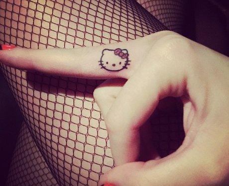 Katy Perry's Hello Kitty tattoo