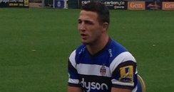 Sam Burgess at Bath Rugby