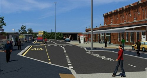 Bournemouth Travel Interchange plans