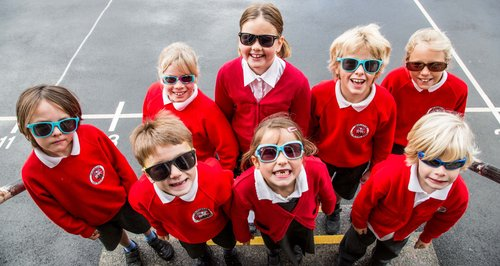 Children's solar panel campaign