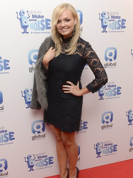 Emma Bunton Global Make Some Noise Evening 2014