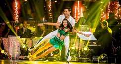 Mark Wright and Karen perform a cha cha cha