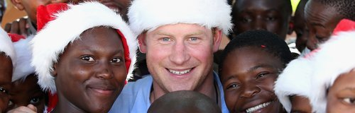 Prince Harry Santa Hat