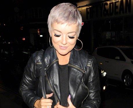 Sheridan Smith Purple Hair