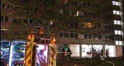 Southampton flats arson Warburton Road Thornhill