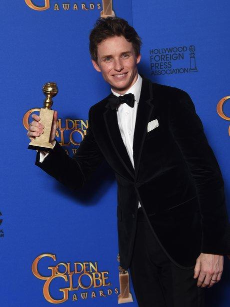 Golden Globes 2015 Eddie Redmayne
